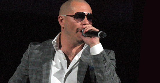 Pitbull in Enrique Iglesias Euphoria World Tour 2011. Photo by Eva Rinaldi.
