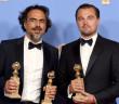 Alejandro Gonzales Inarritu y Leonardo DiCaprio