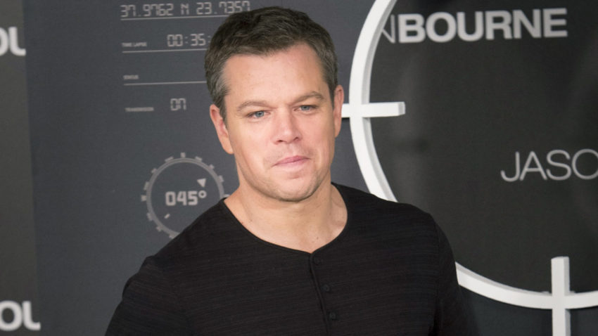 Jason Bourne photocall in Madrid