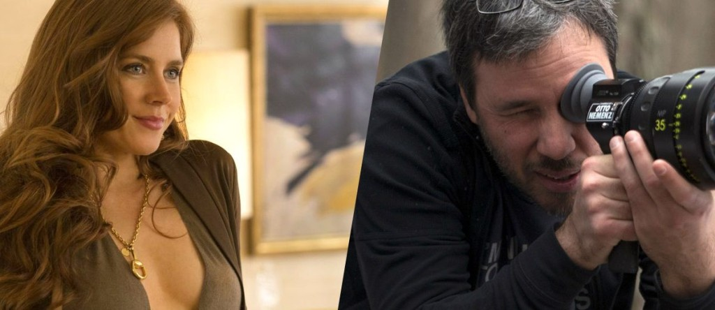 Amy Adams and Dennis Villeneuve