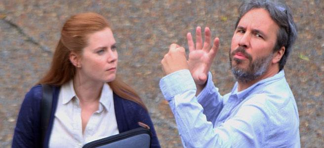 Dennis Villeneuve directs Amy Adams in Arrival