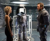 Jenniffer Lawrence and Chris Pratt wake up aboard the spaceship Avalon