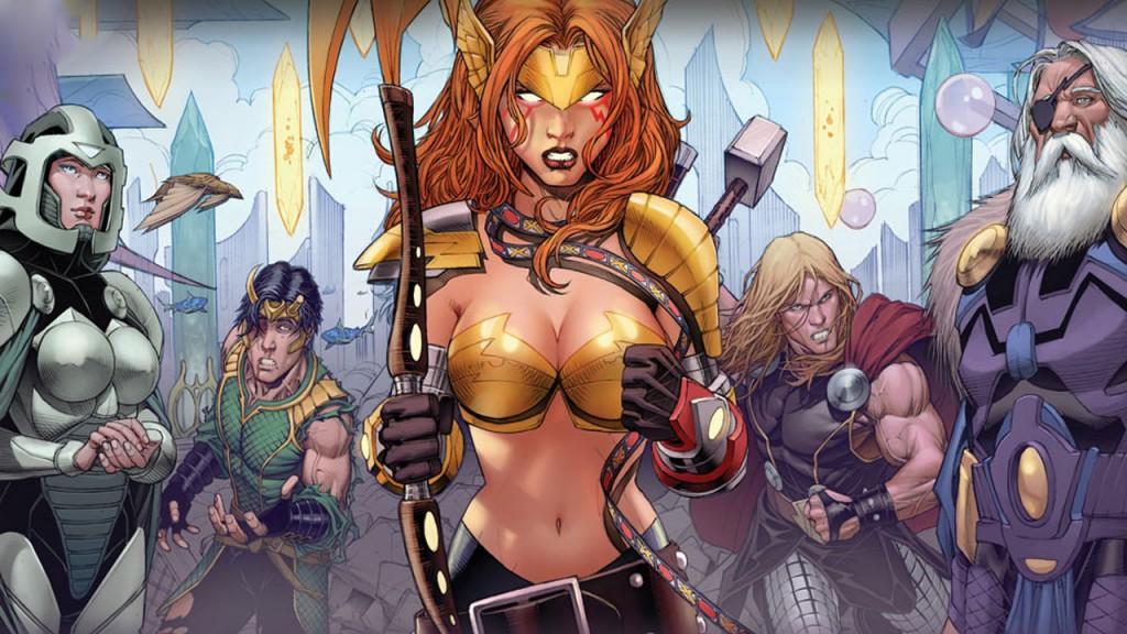 Original Sin. Thor, Loki. The Tenth Realm