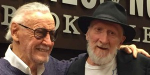 Stan Lee with Frank Miller