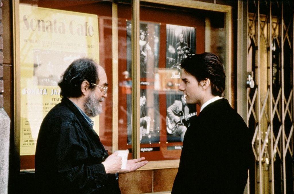Stanley Kubrick y Tom Cruise