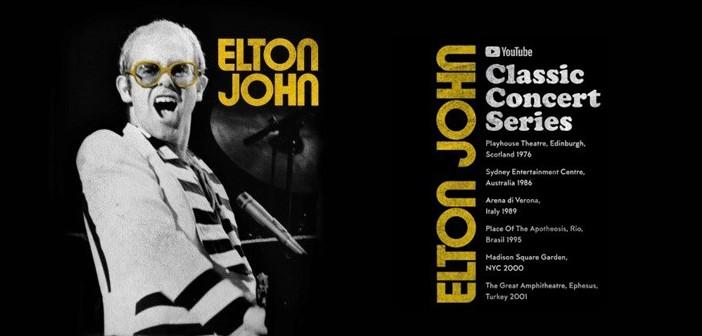 Classic Elton John Exclusively On YouTube